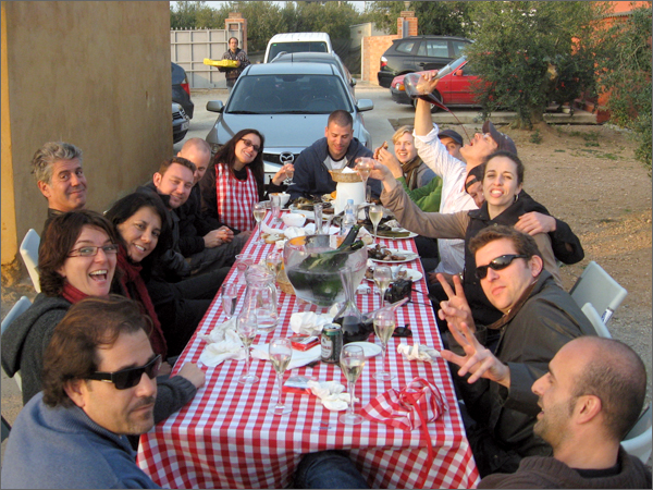 """""""No Reservations"""" with Anthony Bourdain in Spain."""